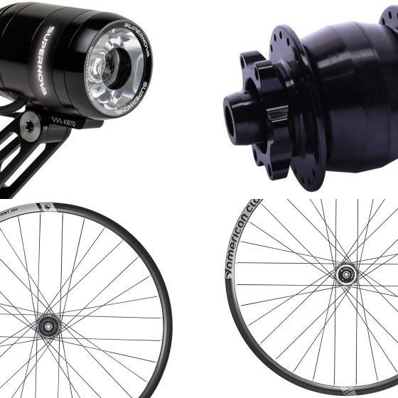Dream Bikes Moderne Lichsysteme mit Nabendynamo